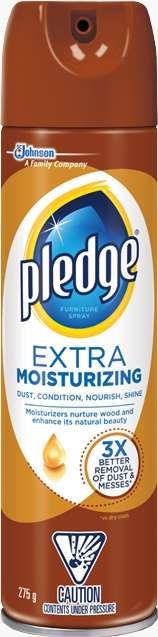 Pledge® Furniture Spray Moisturizing Oil