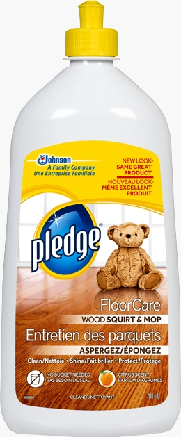 Pledge® FloorCare Wood Squirt & Mop