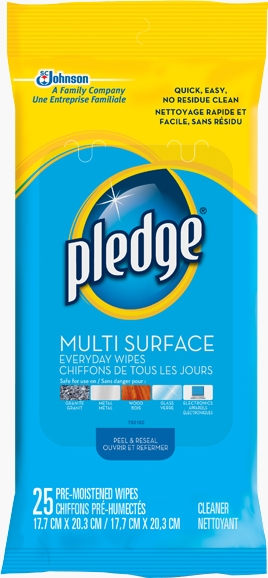 Pledge® Multi Surface Wipes