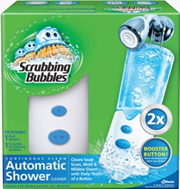 Buy It Now. New Listing SCRUBBING New Scrubbing Bubbles Automatic Shower Cleaner Sprayer Kit with Booster Button See more like this. 15 product ratings - Scrubbing Bubbles New Automatic Shower Cleaner Dual Sprayer 2 Bottles Cleaner. $ Buy It Now +$ shipping. 10 new & refurbished from $