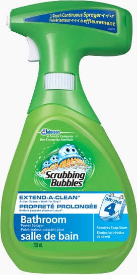 Scrubbing Bubbles® Extend-A-Clean™ Power Sprayer