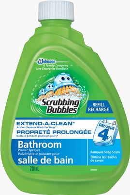 Scrubbing Bubbles® Extend-A-Clean™ Power Sprayer Refill