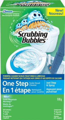 Scrubbing Bubbles® One Step Toilet Bowl Cleaner Starter