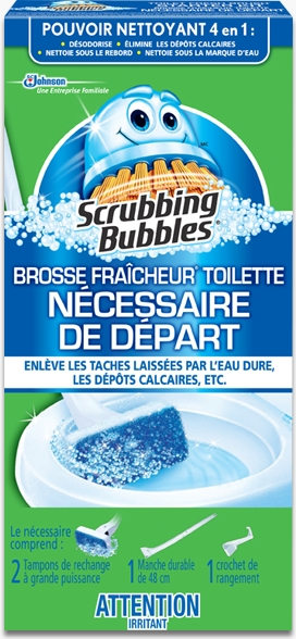 Scrubbing Bubbles® Toilet Fresh Brush® Starter Kit
