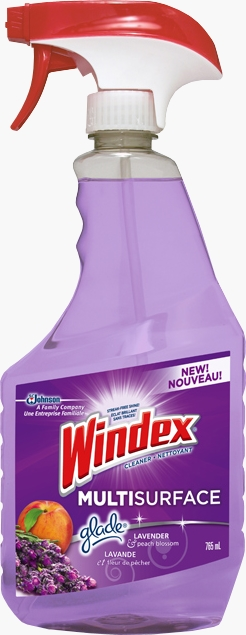 Windex® Multi-Surface with Glade® Lavender & Peach Blossom