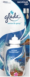 Glade® Sense & Spray™ Nachfüller Ocean Adventure™