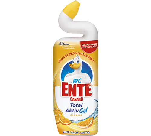 WC-Ente® Total Aktiv Gel Citrus