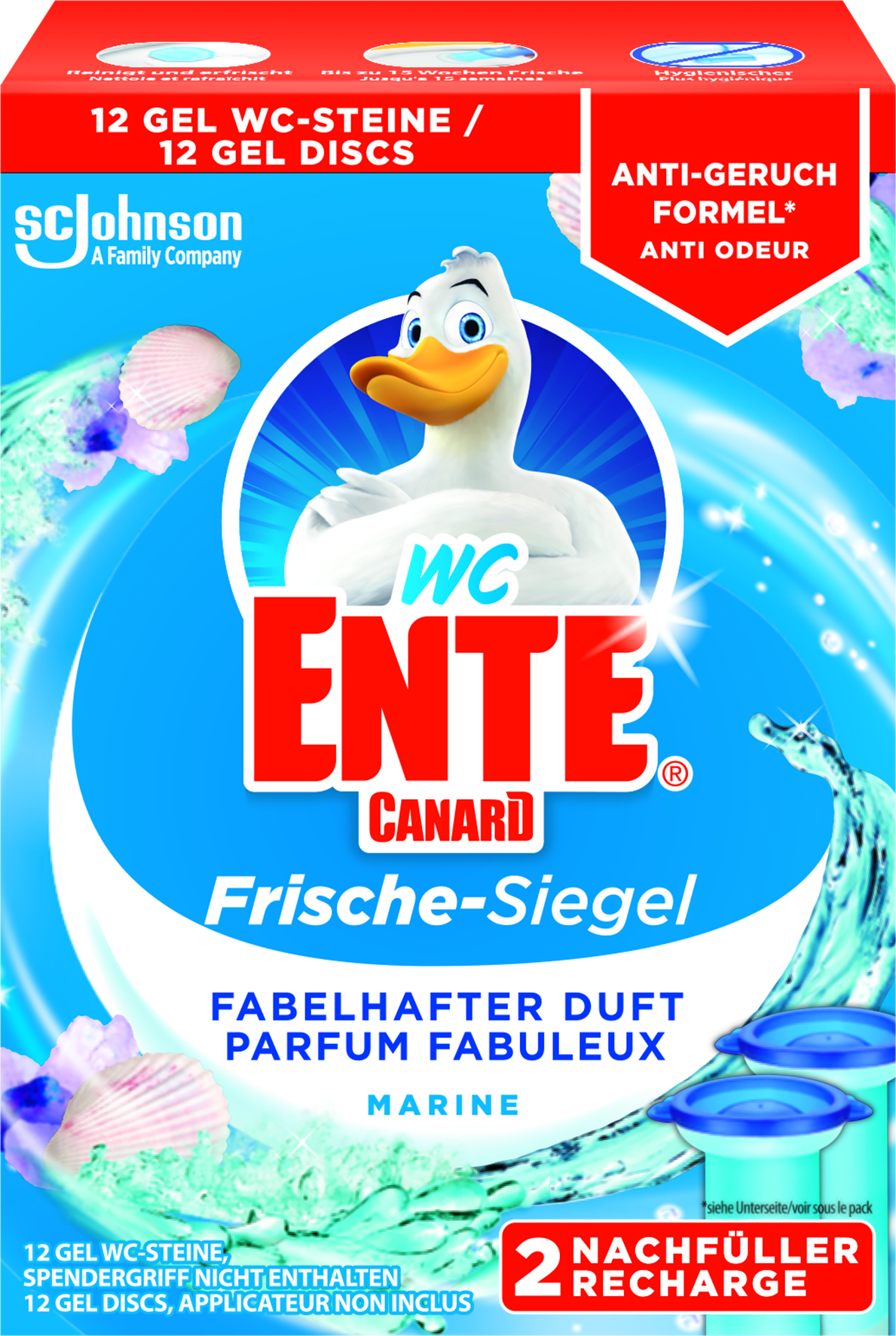 Canard®-WC Fresh Discs Recharges Marine