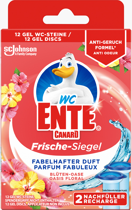 Canard®-WC Fresh Discs Recharges Flower Oasis