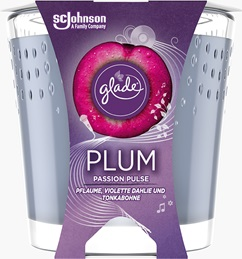 Glade® Duftkerze Plum Passion Pulse