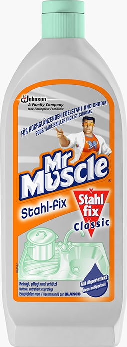 Mr Muscle® Stahl-fix Classic Stahl-Reiniger