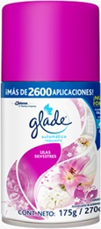 Glade® Automatico Clean Lilas Silvestres