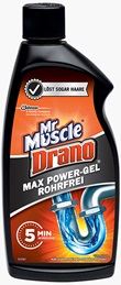 Mr Muscle® Drano® Max Power-Gel 500ml