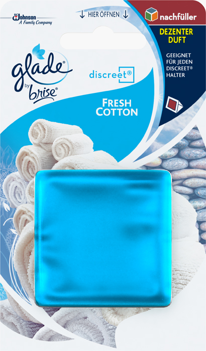 Glade by Brise® Discreet Nachfüller Fresh Cotton
