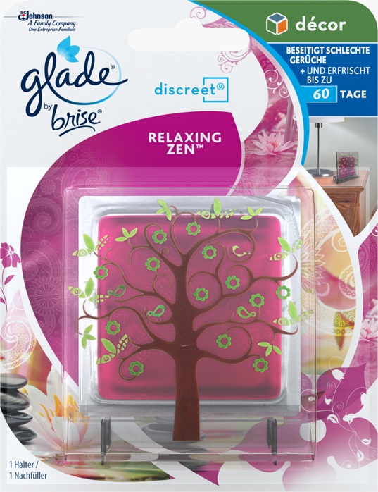 Glade by Brise® Discreet Decor Original Relaxing Zen