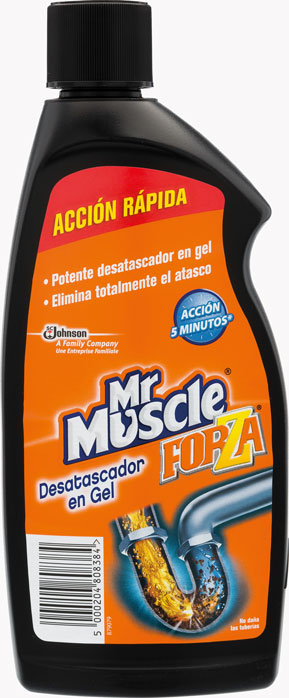 Mr Muscle® Desatascador Gel 500ml