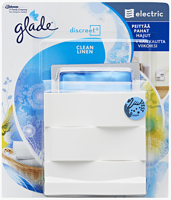 Glade® Discreet hållare Clean Linen