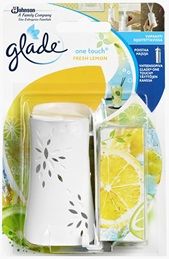 Glade® One Touch pidike Fresh Lemon (Lopetettu)