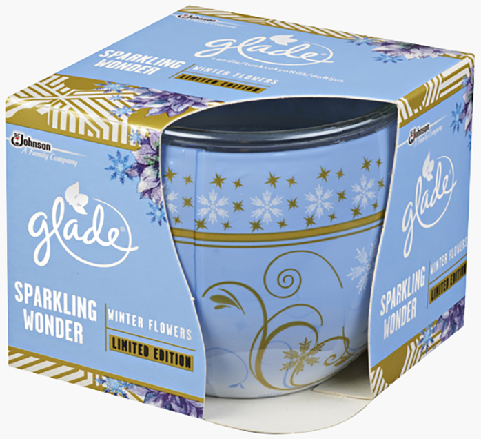 Glade® Doftljus Winter Flowers
