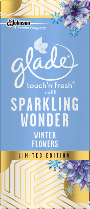 Glade® One Touch refill Winter Flowers