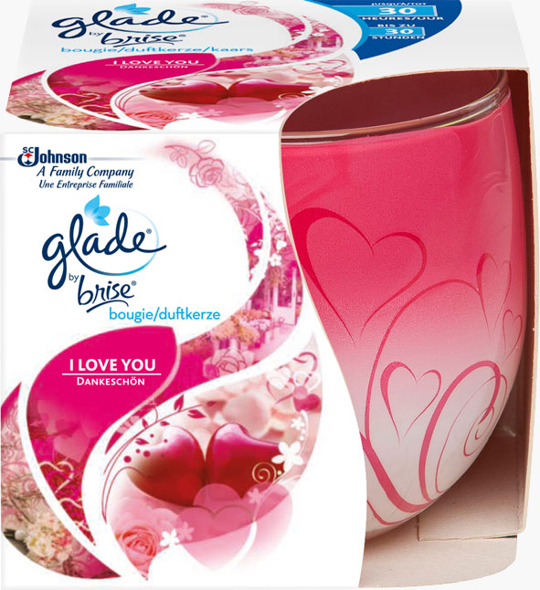 Glade® By Brise® Bougie I Love You