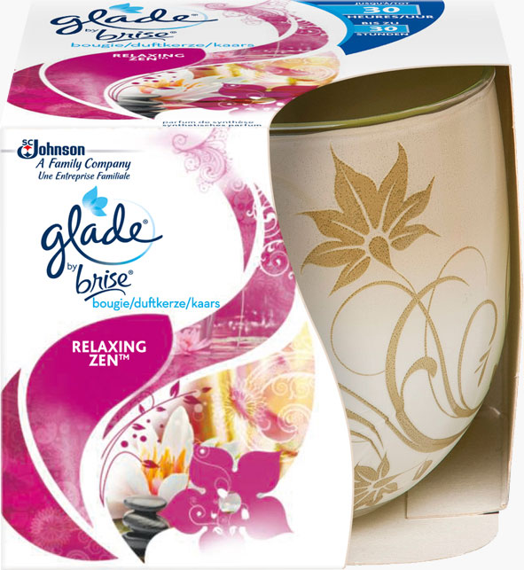 Glade® Bougie Relaxing Zen