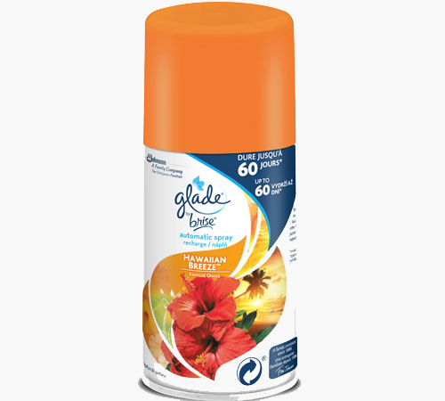 Glade® by Brise® Automatic Spray recharge Hawaiian Breeze™ Discontinué)