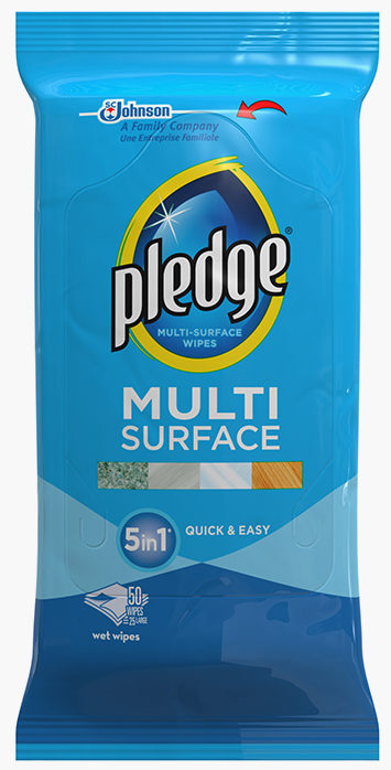 Pledge® Multi Surface 5in1 Wipes