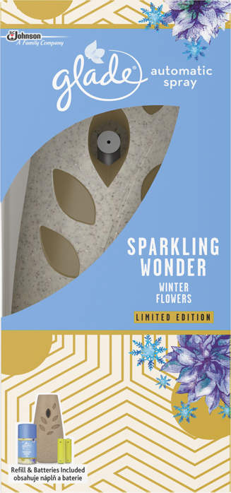 Glade® Sparkling Wonder Winter Flowers Automatic Spray Holder (Discontinued)