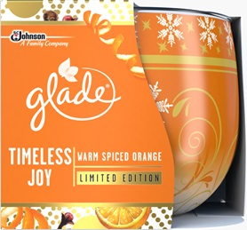 Glade® Timeless Joy Warm Spiced Orange Candle (Discontinued)
