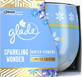 Glade® Sparkling Wonder Winter Flowers Candle (Discontinued)