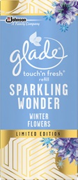 Glade® Sparkling Wonder Winter Flowers Touch & Fresh™ Refill (Discontinued)