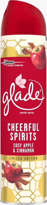 Glade® Cheerful Spirits Cozy Apple and Cinnamon Aerosol (Discontinued)