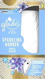 Glade® Sparkling Wonder Winter Flowers Sense & Spray™ Holder (Discontinued)