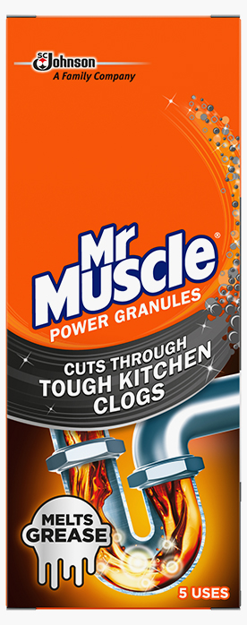 Mr Muscle® Kitchen Drain Unblocker