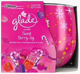 Glade® Candle Sweet Berry Joy