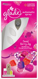 Glade® Autospray Starter Kit Sweet Berry Joy