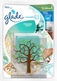 Glade® Sensations™ Glass Paraíso Azul™