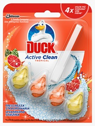Duck® Active Clean Osvježivač Za Wc Školjku, Miris Tropical
