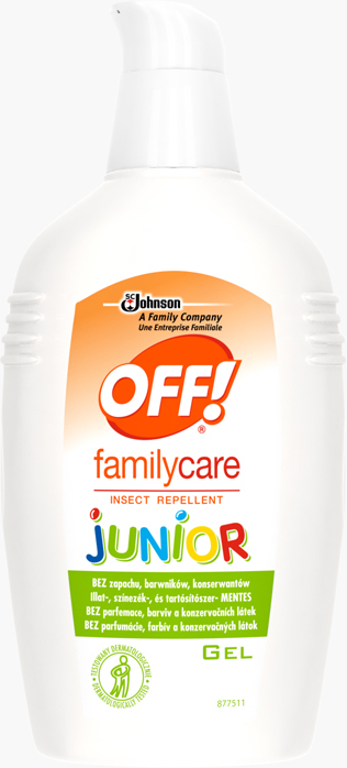 Off!® Family Care Junior Rovarriasztó Gél