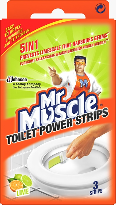 Mr Muscle® Power Strips Lime