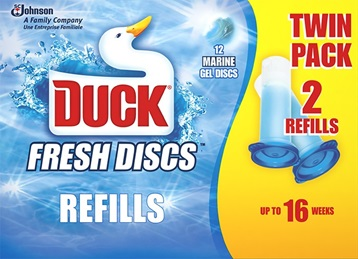 Duck® Fresh Discs Twin Refill Marine