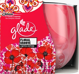 Glade® Candles Floral Groove
