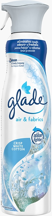 Glade® Air & Fabric Crisp White Cotton