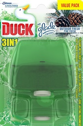 Duck® Liquid Rimblock Twin Refill Outdoor Fresh