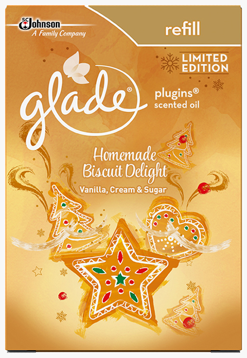 Glade® Liquid Electric Refill Homemade Biscuit Delight