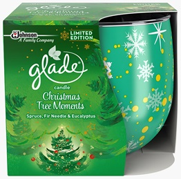 Glade® Candle Christmas Tree Moments