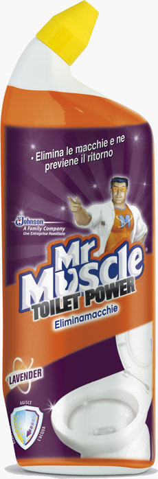 Mr Muscle® Toilet Power Elimina Macchie