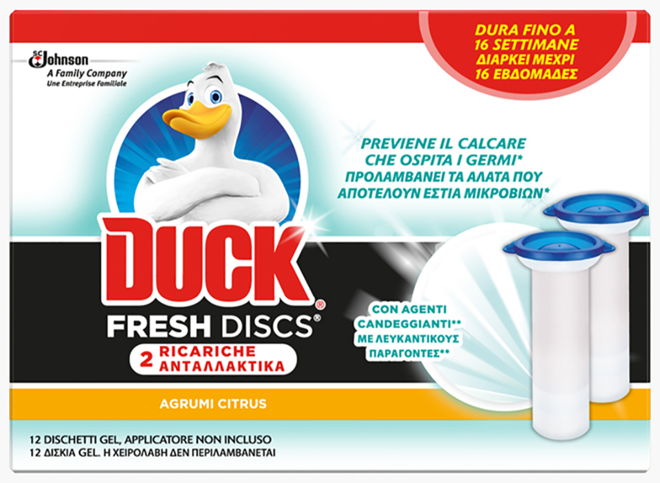 Duck® Fresh Discs - Agrumi