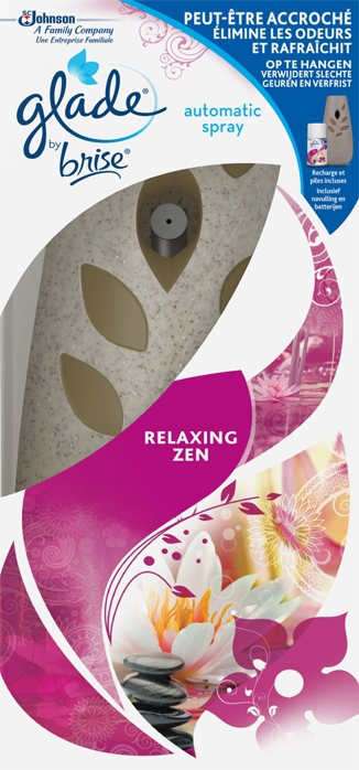 Glade® by Brise® Automatic Spray Boîtier Relaxing Zen